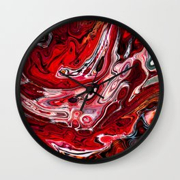 Marbled VI Wall Clock