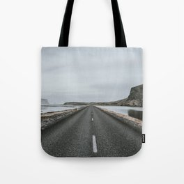 Empty Road - A Love Story Tote Bag