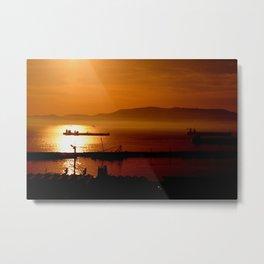 Gibraltar sunset Metal Print