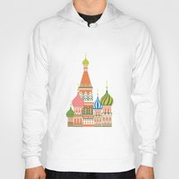 moscow Hoodies featuring Moscow by Chay Lazaro