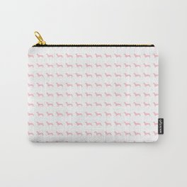 Pink Dachshunds Carry-All Pouch