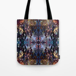 Tri-Fractal Galaxy Tote Bag