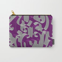 3D Ornamental Background Carry-All Pouch