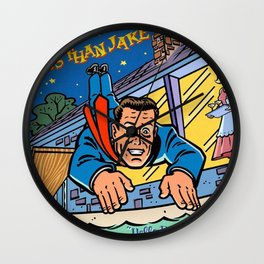 LESS THAN JAKE ROCKVIEW Wall Clock
