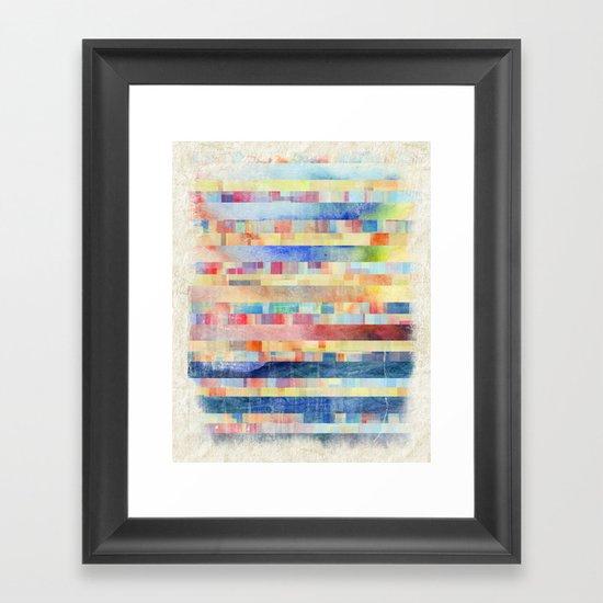 Amalgamate Framed Art Print