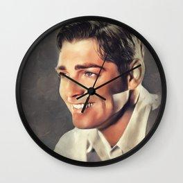 Clark Gable, Movie Legend Wall Clock