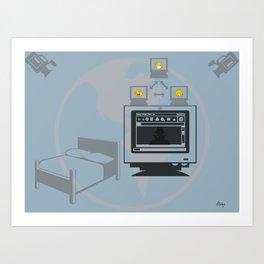 Web Cam World Art Print