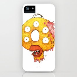 Donut Head iPhone Case