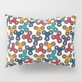 Pattern with spinners Pillow Sham