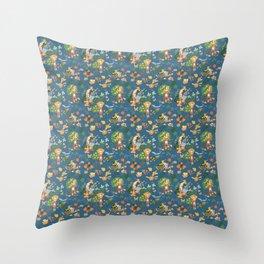 Gardening Party Throw Pillow