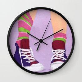 Just for Kicks Wall Clock