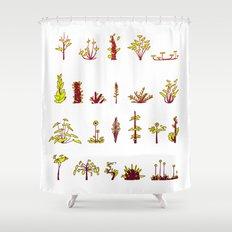 Plants plants plants Shower Curtain
