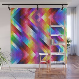 HIPSTER GEOMETRY Wall Mural