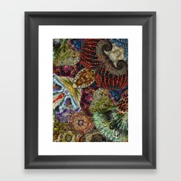Psychedelic Botanical 7 Framed Art Print