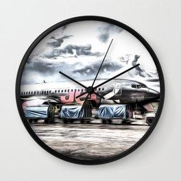 Boeing 737 Art Wall Clock