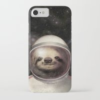 sloth iPhone & iPod Cases featuring Space Sloth  by Eric Fan