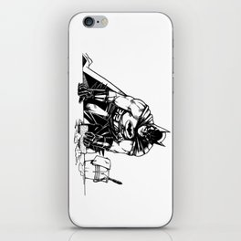 Cleaning up Gotham City iPhone Skin