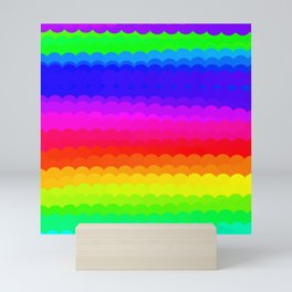 Rainbow Color S27 Mini Art Print