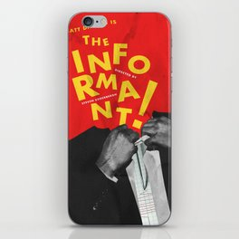 The Informant! iPhone Skin