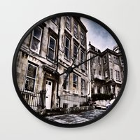 the neighbourhood Wall Clocks featuring Character Building I by JeraNour