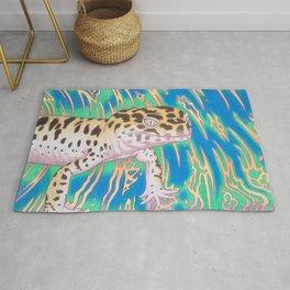 Leopard Gecko Whirlwind Rug