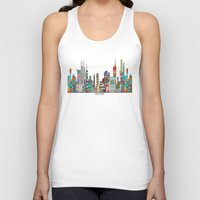 melbourne Tank Tops featuring Melbourne by bri.buckley