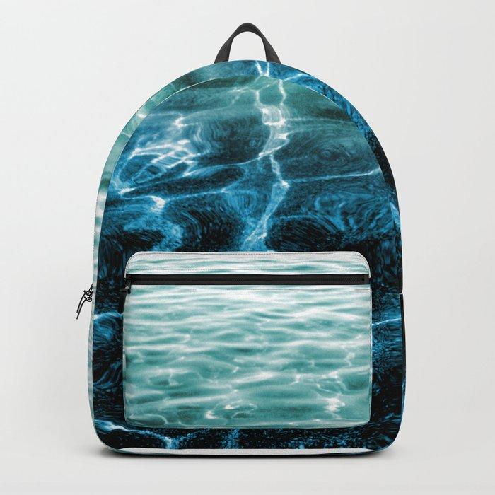 acqua azzurra acqua chiara Backpack