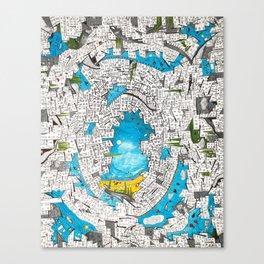 Velvet Chaos Canvas Print