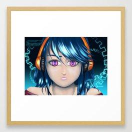 CyberBlue Framed Art Print
