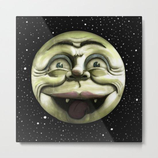 Rad Moon Rising Metal Print