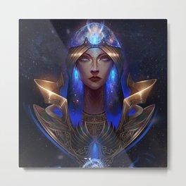 Goddess of the Sky Metal Print