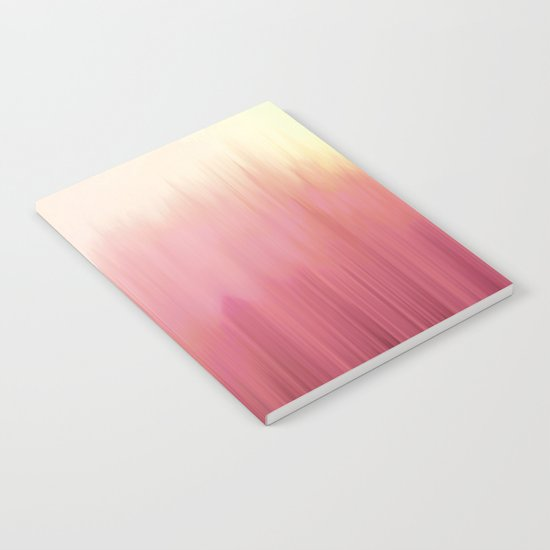 Soft Pink Woods Notebook