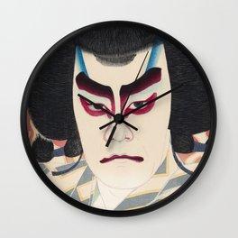 Japanese Ukiyo-e Art Wall Clock