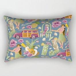 Hula Half Drop Rectangular Pillow