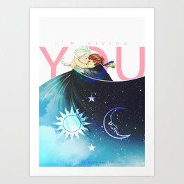 The Sun, the Moon and the Sky Art Print