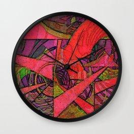 Tropical Farm 2 Wall Clock