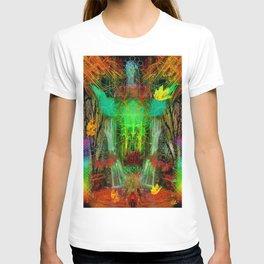 The Cooling Spirit of Autumn T-shirt