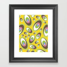 Ovoid Explosion Framed Art Print