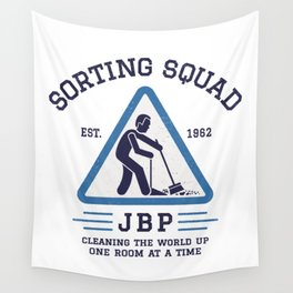 Jordan Peterson - Sorting Squad Wall Tapestry
