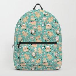Baking Gingerbread - Retro Pastels Backpack