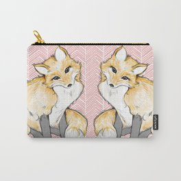 Chevron Foxy Four  Carry-All Pouch