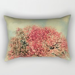 In our hearts there's always spring Rectangular Pillow