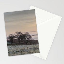 January Sunrise Stationery Cards