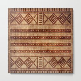 -A24- African Moroccan Traditional Artwork. Metal Print
