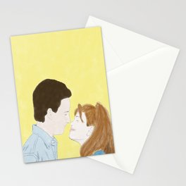 Cory & Topanga (Boy Meets World) - Watercolor Stationery Cards