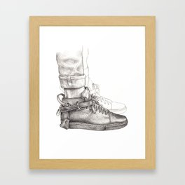 Buscemi 100MM Fashion Drawing Framed Art Print