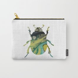 Beetle Scarabaeus Carry-All Pouch