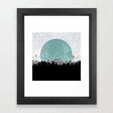 Woods Abstract 2 Framed Art Print