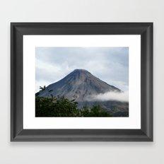 Arenal Volcano, Costa Rica Framed Art Print