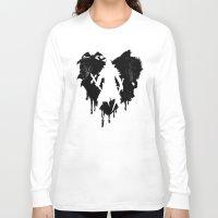 castlevania Long Sleeve T-shirts featuring I LOVE Castlevania by Marcos Raya Delgado
